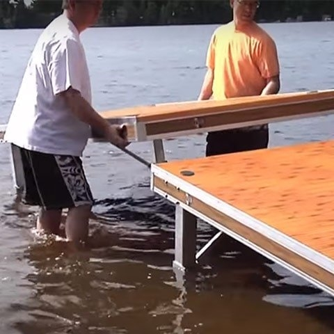 Boat Dock Installation and Removal